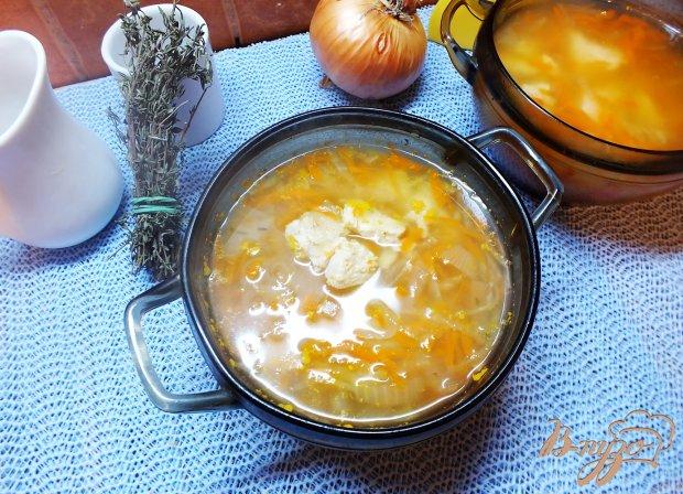 Суп с дайконом