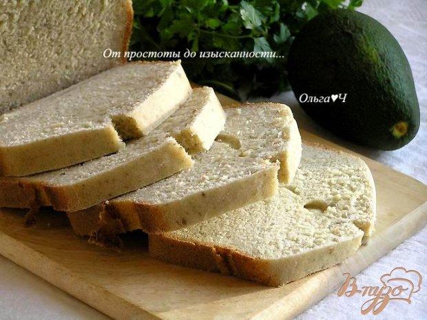 Хлеб с авокадо