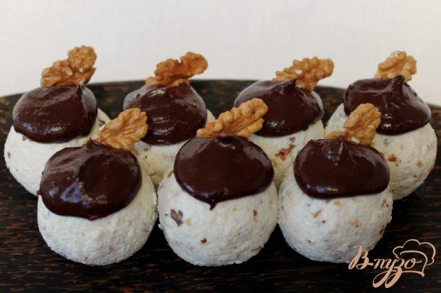 Творожные шарики с шоколадом