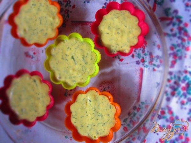 Кексы с плавленым сырком