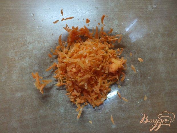 Салат из моркови с овсянкой