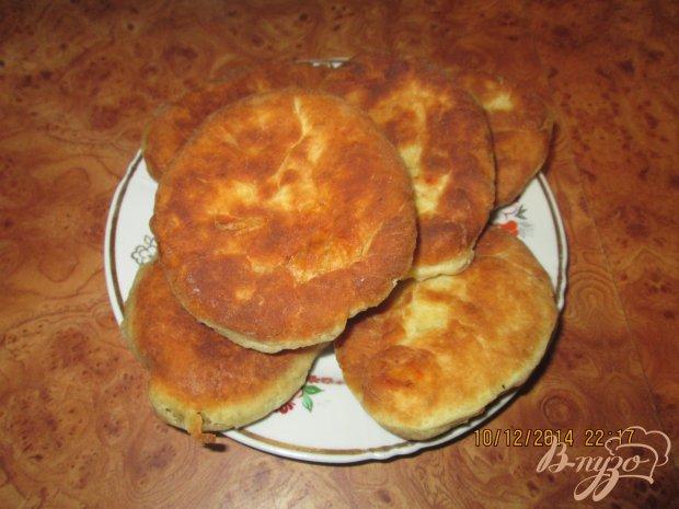 Жареные пирожки на кефире с капустой