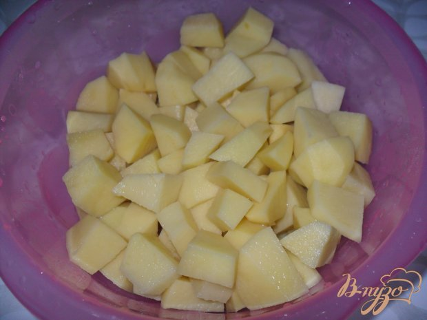 Тушенный картофель
