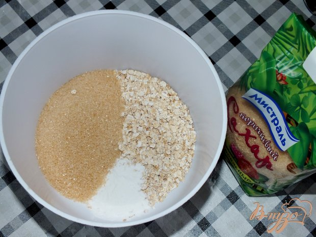 Овсяные кексы с коричневым сахаром