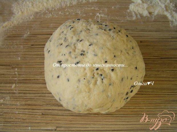 Содовый постный хлеб с кунжутом