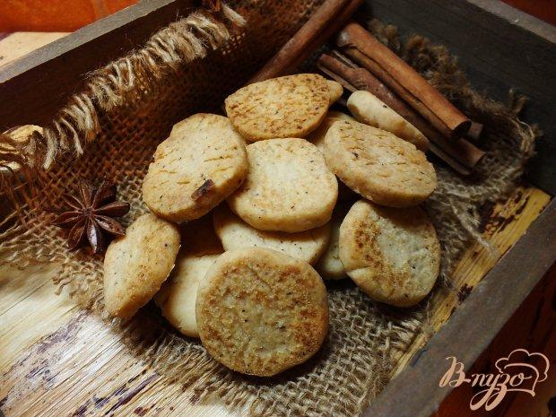 Пряное печенье из песочного теста