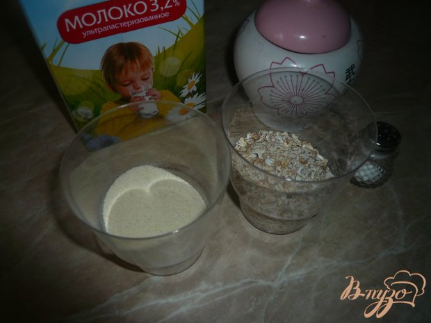 Молочная каша с медом