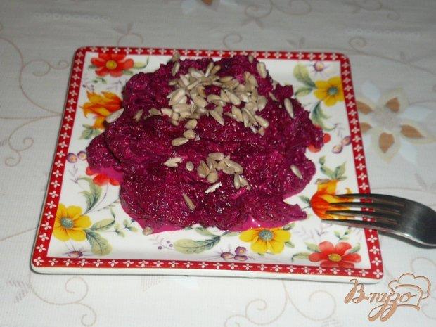 Салат свекольный
