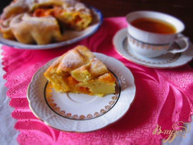 Постный пирог с абрикосами