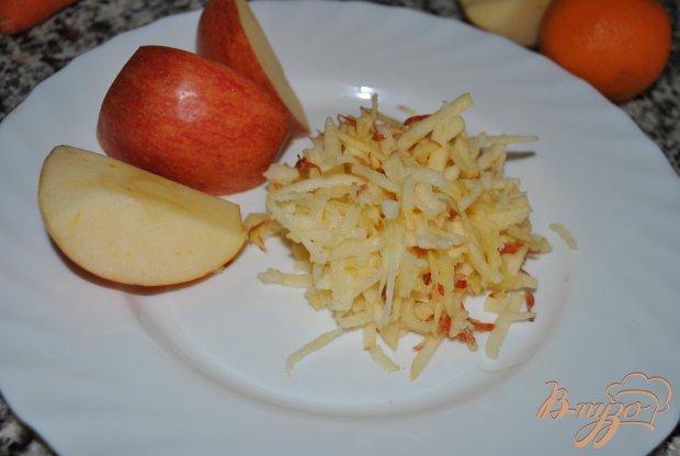Сладкий салат с репой и чечевицей