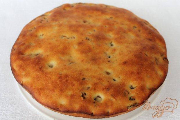 Пирог с орехами, сухофруктами и семечками