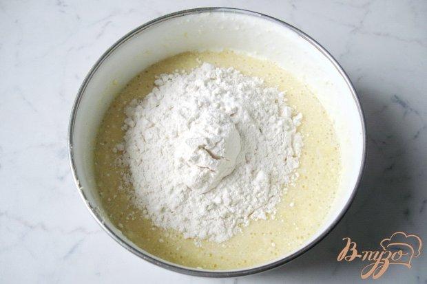 Домашний песочный пирог с вишней