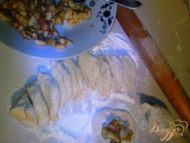 Творожное тесто для пирожков или рогаликов