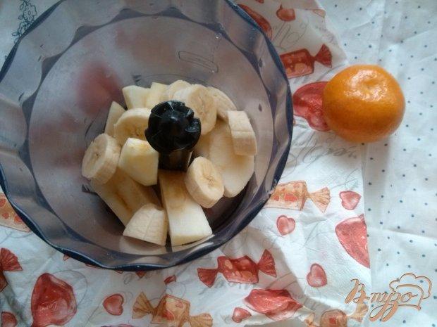Смузи яблочно-банановый