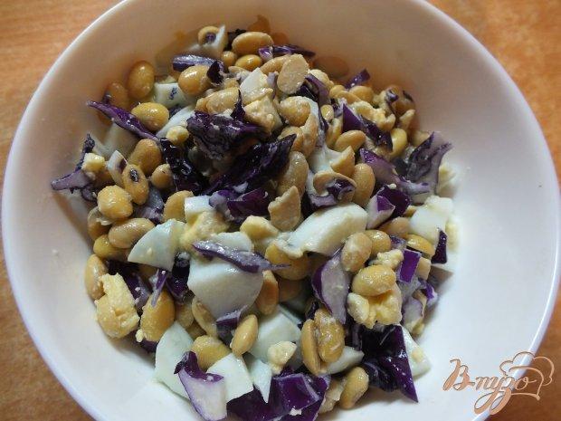 Салат с соевыми бобами