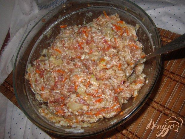 Котлеты с рисом и фаршем