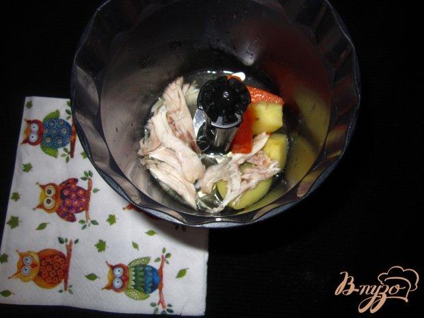 Детский крем суп с кроликом