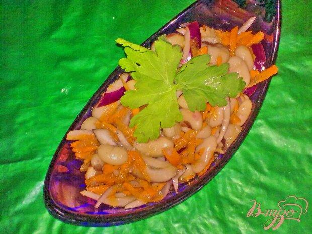 Салат из фасоли по-азиатски