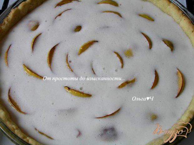 Пирог с айвой и калиной
