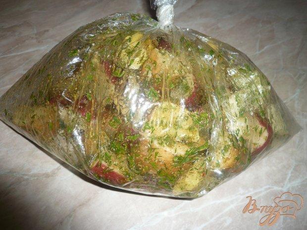 Картофель с укропом
