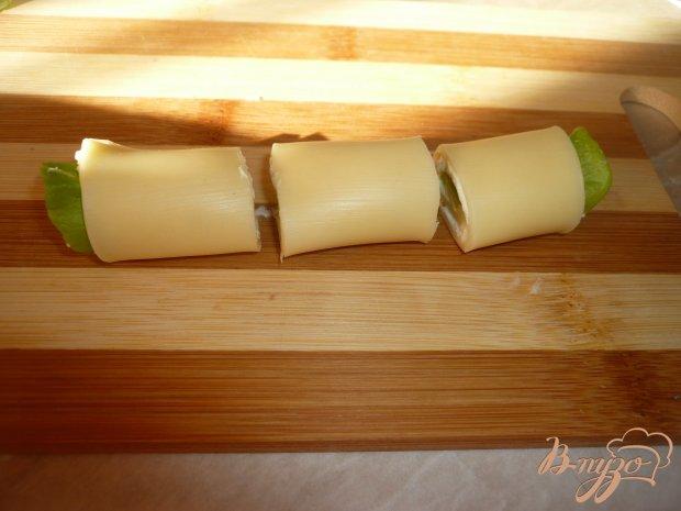 Сырные рулетики на закуску