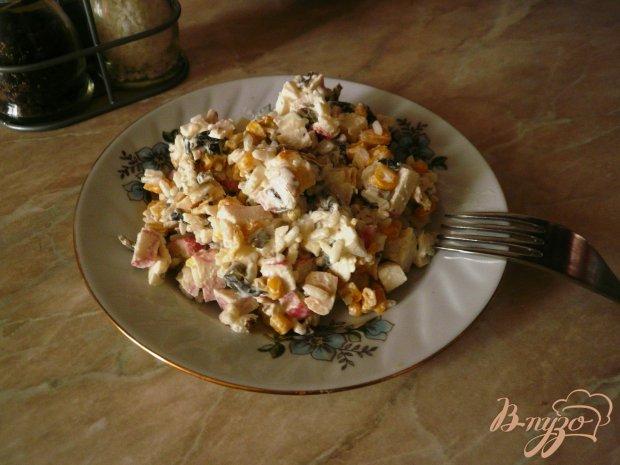 Салат с морепродуктами бюджетный
