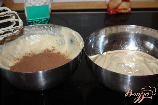 Двухцветный пирог