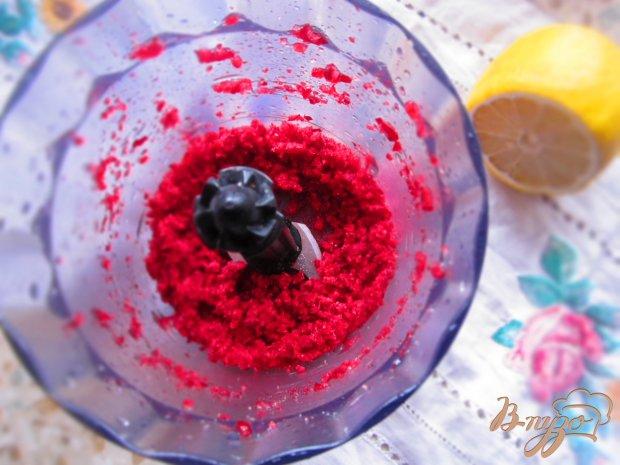 Сорбет вишневый с печеньем