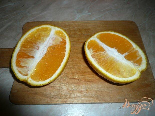 Курица в луково-апельсиновом соусе