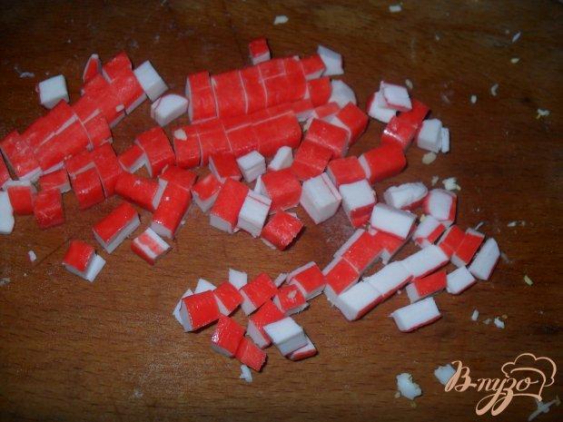 Тарталетки с крабовыми палочками