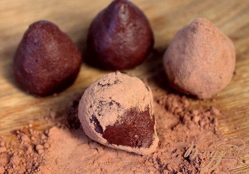 Шоколадный трюфель