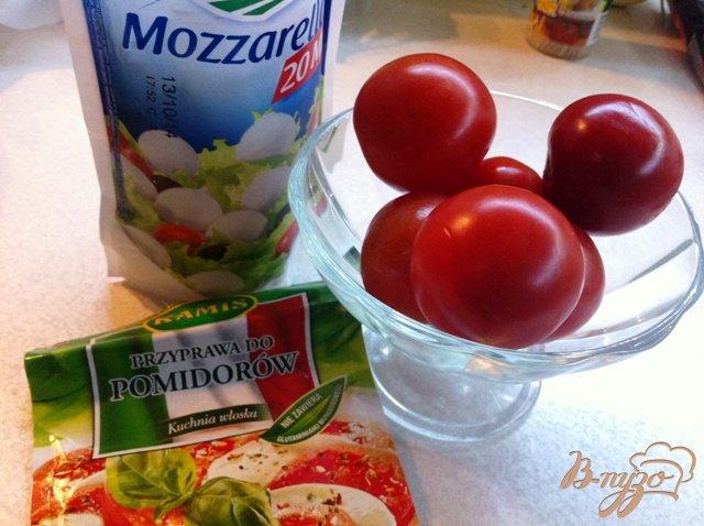 Фото приготовление рецепта: Закуска по мотивам Капрезе шаг №1