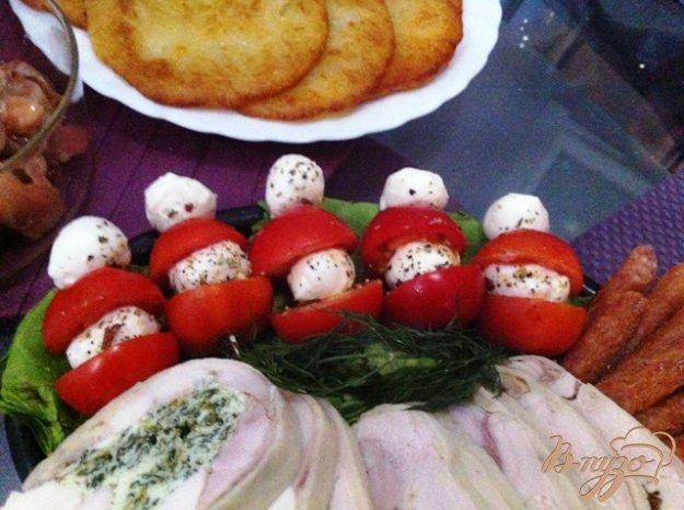 фото рецепта: Закуска по мотивам Капрезе