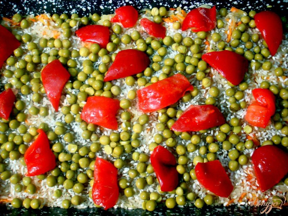 Фото приготовление рецепта: Рис с мясом шаг №6