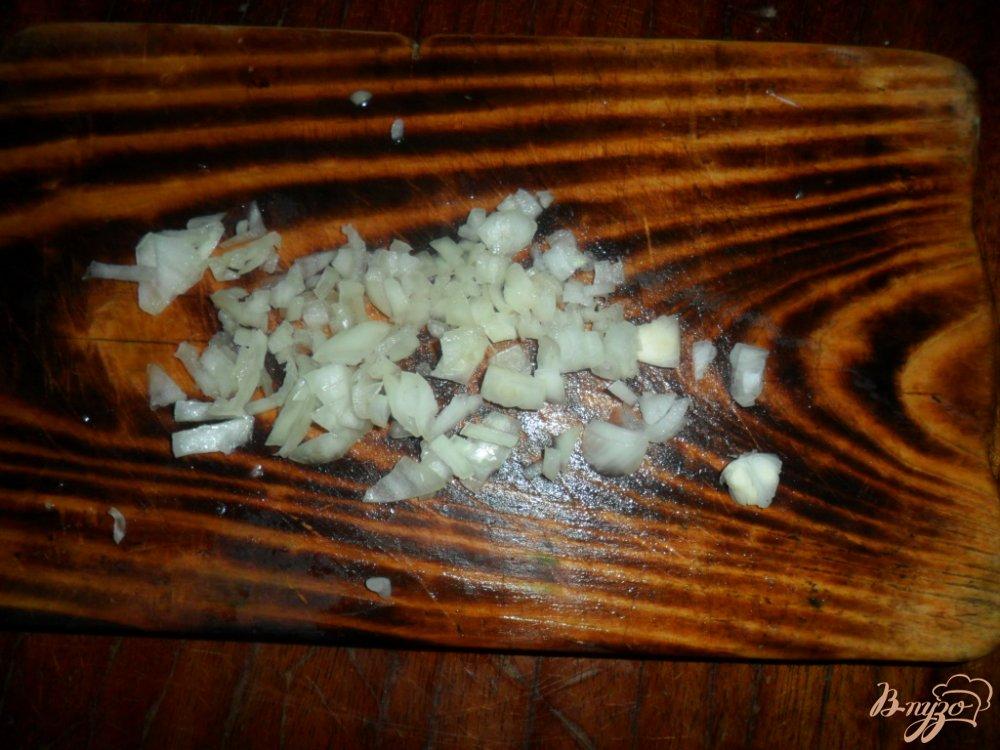 Фото приготовление рецепта: Суп с гусиной печенью шаг №2