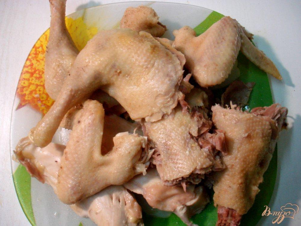 Фото приготовление рецепта: Бульон куриный шаг №2
