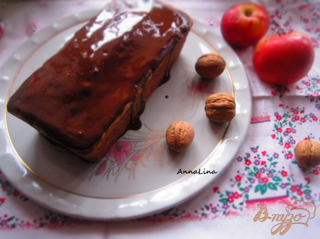 фото рецепта: Кекс с орехами и клюквой