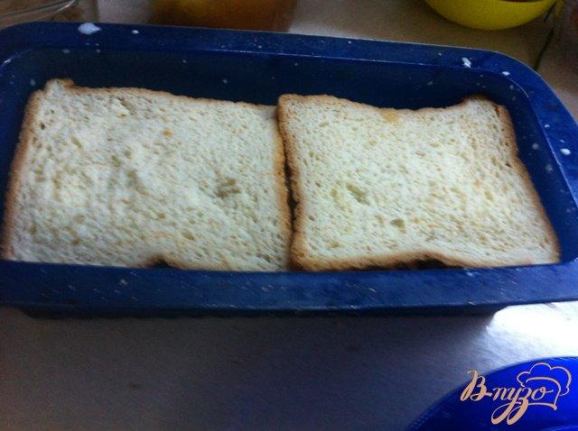 Фото приготовление рецепта: Пудинг хлебный шаг №6