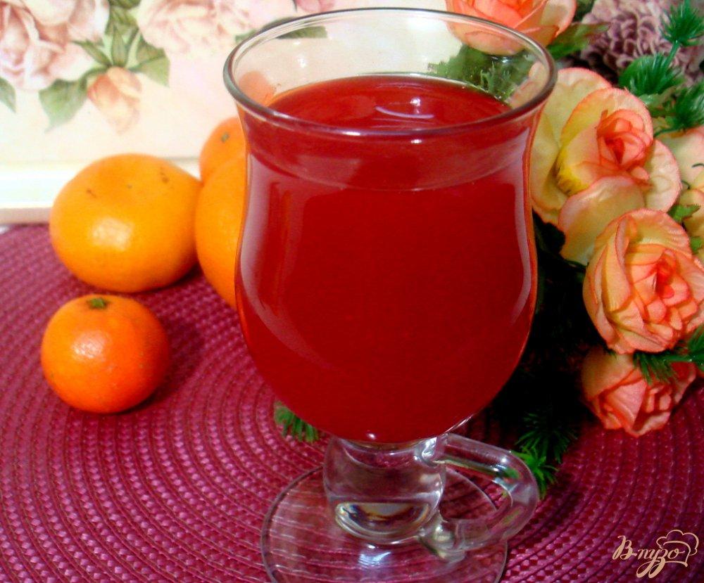 Фото приготовление рецепта: Кисель фруктовый шаг №7