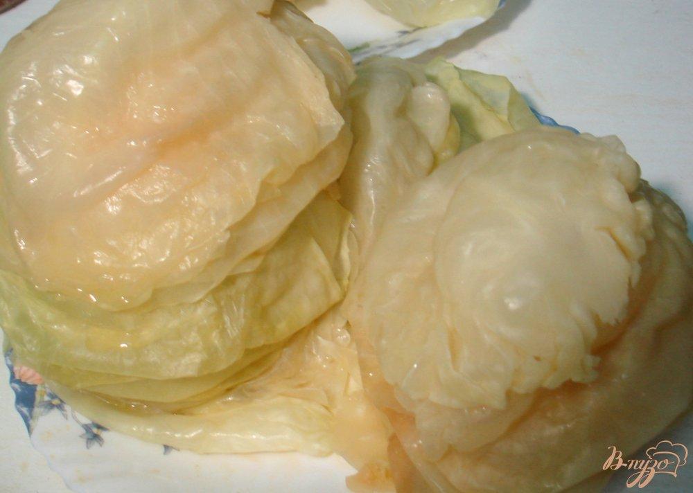 Фото приготовление рецепта: Голубцы с мясом, рисом и овощами шаг №6