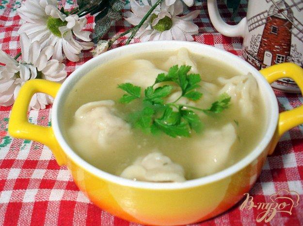 фото рецепта: Суп с пельменями
