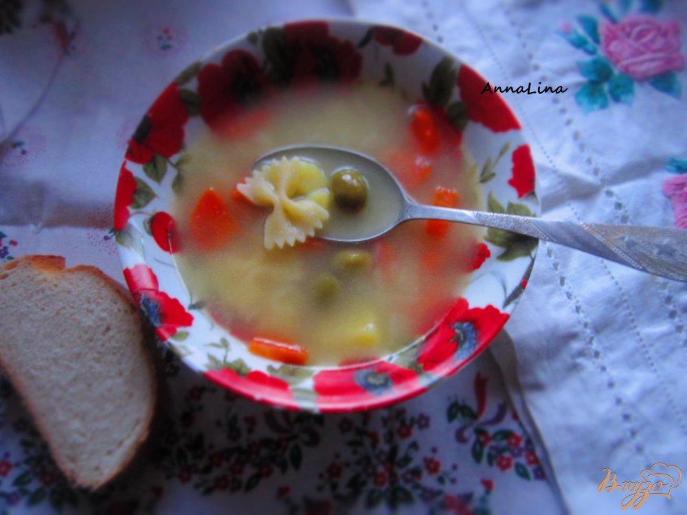 Фото приготовление рецепта: Суп с оливками шаг №5
