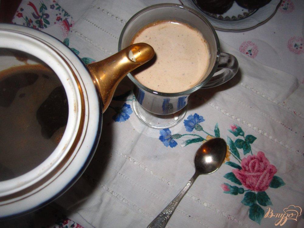 Фото приготовление рецепта: Кофе с какао шаг №3