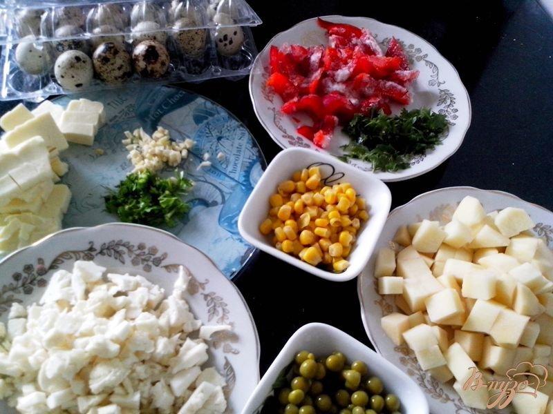 Фото приготовление рецепта: Сырный суп шаг №4
