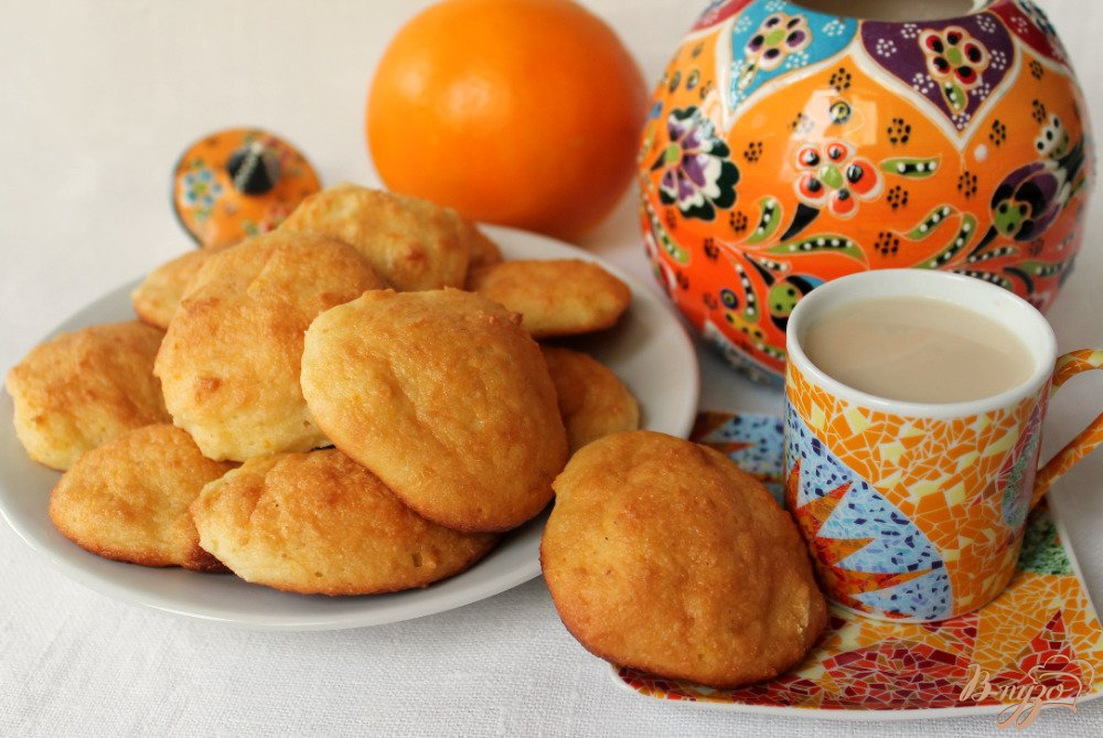 Фото приготовление рецепта: Творожное печенье шаг №5