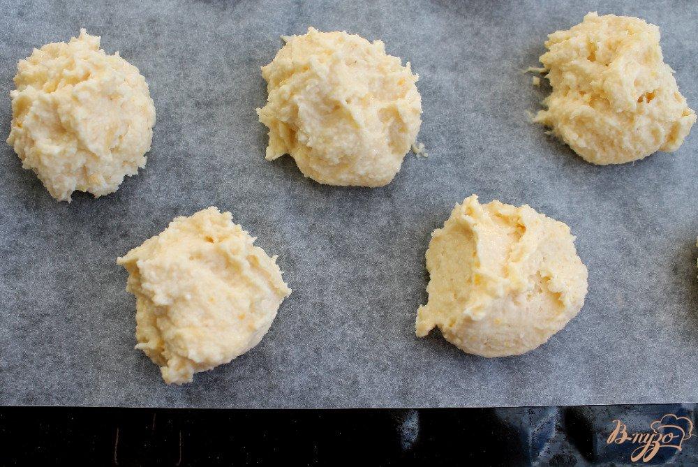 Фото приготовление рецепта: Творожное печенье шаг №4