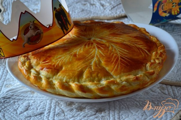 фото рецепта: Королевская галета (Galette des rois)