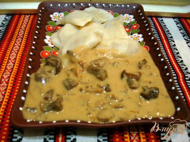 фото рецепта: Мачанка из белых грибов и шампиньонов