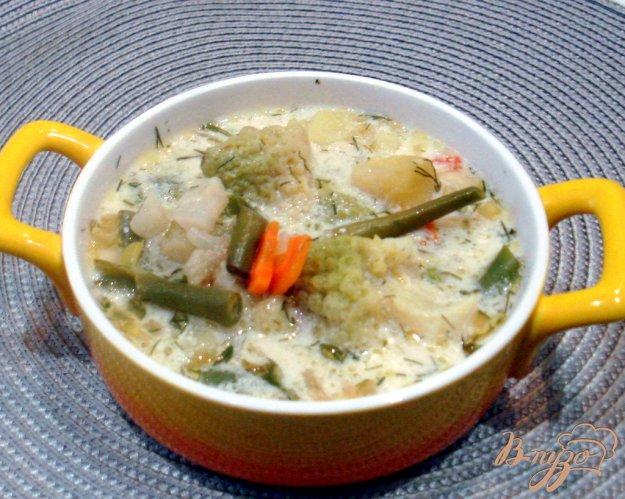 фото рецепта: Суп из четырёх видов капусты