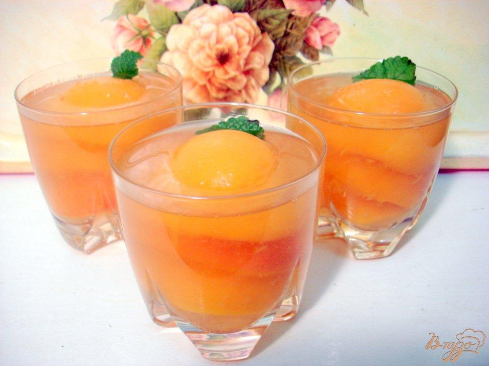 Фото приготовление рецепта: Персиковый  десерт шаг №5